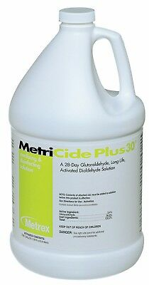 Metrex 10-3200 Metricide Plus 30 Day High Lvl Disinfectant 3.4% Glut Case 1Gal