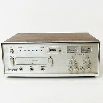 Vintage Fisher ER - 8120 8 Track Player - For Parts or Repair