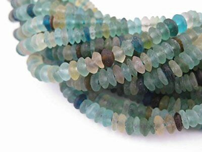 Saucer Roman Glass Beads, 100% Authentic and Genuine Ancient Glass, Made in for