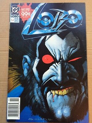 Lobo #1 (of 4) *1st Solo Series* *NICE BOOK*