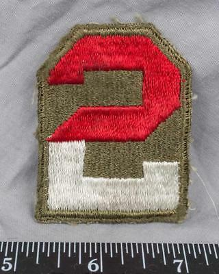Vintage WWII Korean War Era US Army 2nd Army Class A Patch ajd