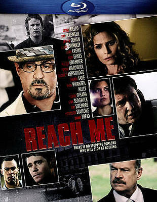 Reach Me (Blu-ray Disc, 2014) * Factory Sealed NEW * Sylvester Stallone