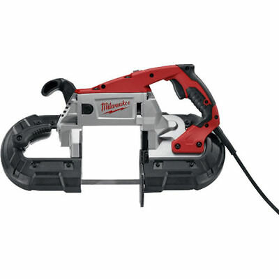 Milwaukee 6238-21 Portable Corded Band Saw, 120 VAC/DC, 11 A, 5 X 5 in Rectangul