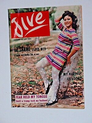 JIVE MAGAZINE- December 1967,  84 pages,  very good condition,  African American