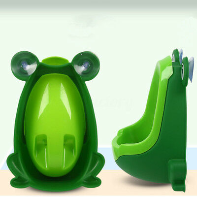 Kids Frog Potty Toilet Training Children Urinal For Boys Pee Trainer Bathroom US