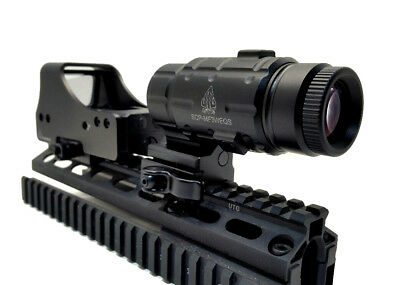 UTG RIFLE SCOPE Red Laser Combo 3-12X44 Compact NEW with