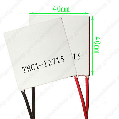 TEC1-12715 Heatsink Thermoelectric Cooler Heat Sink Cooling Peltier Module 12V