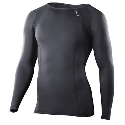 NEW 2XU Men's Compression Long Sleeved Top By Anaconda