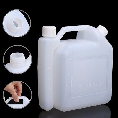 1.5 Litre 2-Stroke Oil Petrol Fuel Mixing Bottle Tank For Trimmer Chainsaw 1:25