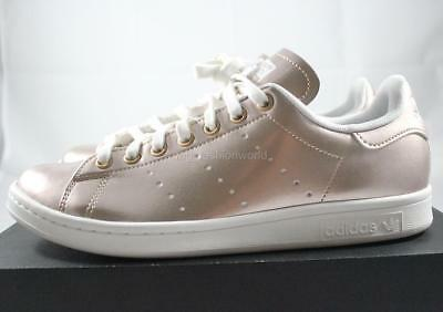 premium selection 4db98 7186b ... best price new women adidas stan smith originals casual shoes sneakers metallic  rose gold 5038e 583d9