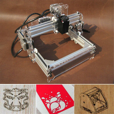 1600MW Mini DIY Laser Engraving Cutting Engraver Cutter Printer Machine CNC AU