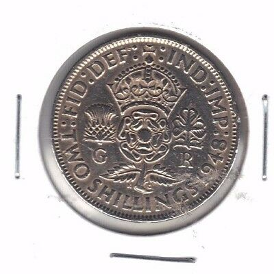 Great Britain 1948 Two Shilling Coin
