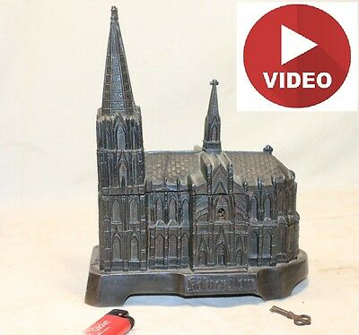 Antique Treasure Music Box Cologne Cathedral Kolner Dom Old Historical Building