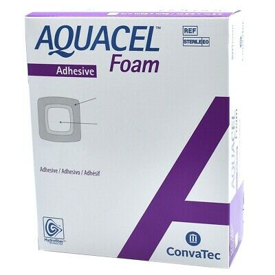 Aquacel Foam Adhesive 10cm x 10cm Dressings