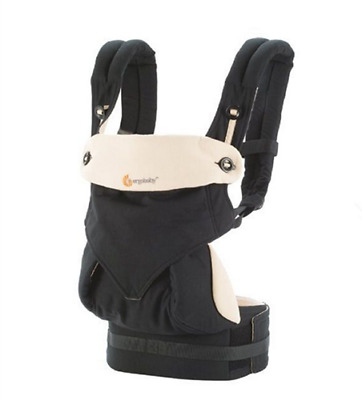 New Ergo 360 Baby Four Position carrier Dusty black witet