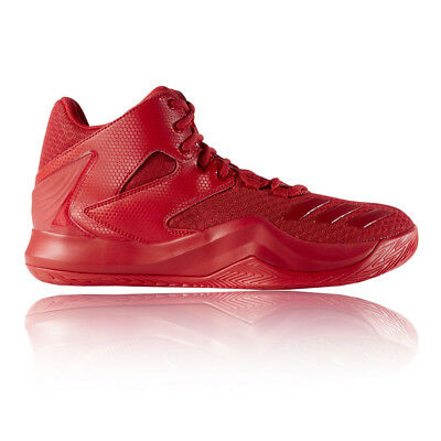 hot sale online def40 f0e3a adidas Mens D Rose 773 V Basketball Shoes Red Sports Trainers Lightweight