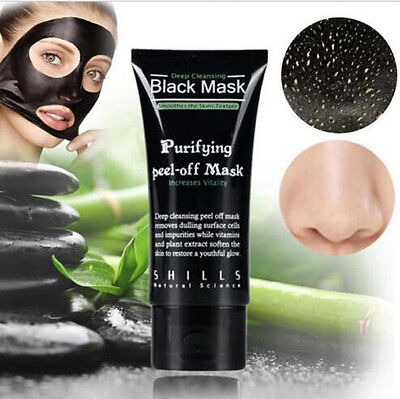 SHILLS 50ml Purifying Blackhead Remover Peel Off Facial Cleaning Black Face Mask