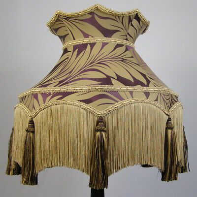 Traditional Victorian Vintage Lampshade **REDUCED FROM  £258.00 TO £232.00**