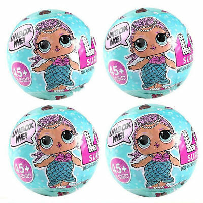 2Pcs LOL Lil Outrageous 7 Layers Series 1 Doll Blind Mystery Surprise Ball Toy