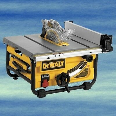 DEWALT 10-Inch Compact Job Site Table Saw Guarding System Lightweight Easy #4086