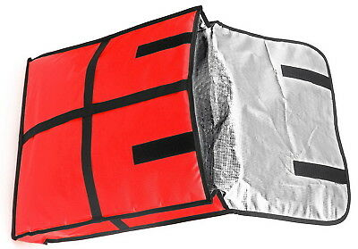 Insulated Thermal Food Pizza Delivery Bag Pizzas Pies Carrying 18 x 18 x 5-Inch