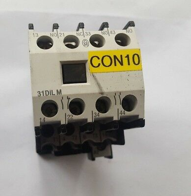 Moeller Dil00M-G-10 Contactor W/ 31Dilm (R1S5.1B2)