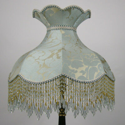 Victorian Vintage Standard  Beaded Lampshade **REDUCED FROM £217.00 TO £195.00**