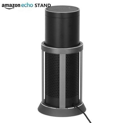 acryl wand und decken halterung st nder f r amazon echo. Black Bedroom Furniture Sets. Home Design Ideas