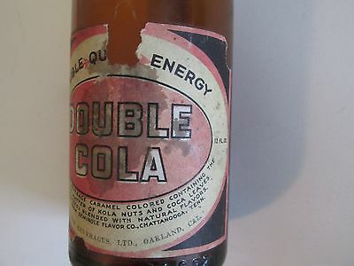 Double Cola, Bottle, Label, Coca, Cocaine, Coke, Energy, Rare, Cola, Drugs