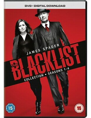 The Blacklist Collection: Seasons 1-4 (Box Set with Digital Download) [DVD]
