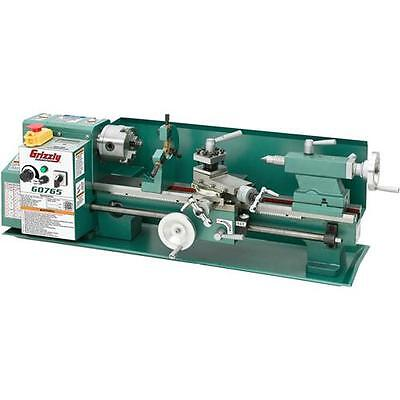 """G0765 Grizzly 7"""" X 14"""" Variable-Speed Benchtop Lathe"""