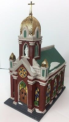 Dept 56 Holy Name Church Christmas in City #58875 Heritage Collection