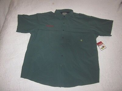 BSA New w/ Tags Venturing Scout Shirt Size Adult 3XL Vented