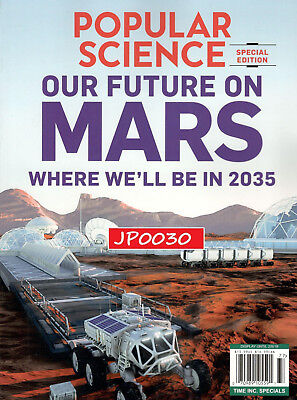 Popular Science Special 2017, Future On Mars, Time Special, Brand New/Sealed
