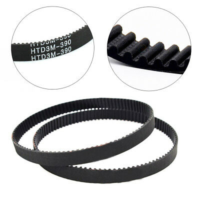 HTD 3M 225~342mm Closed Timing Belt Pulley Pitch Rubber Drive Belt 10~50mm Width