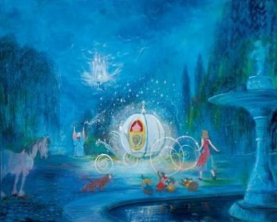 "Cinderella - ""A Dream Is A Wish Your Heart Makes"" by Harrison Ellenshaw"