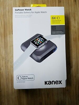 Kanex GoPower Watch Portable Battery for Apple Watch K168-1066 BRAND NEW