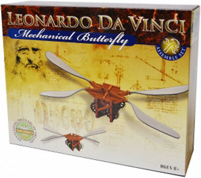 Leonardo da Vinci Edu-Science - Mechanical Butterfly Assemble Set New