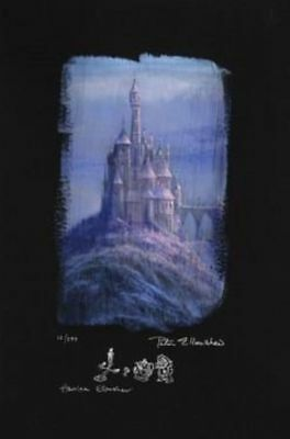 """Beauty and the Beast Castle"" by Peter and Harrison Ellenshaw"