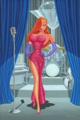 """Diva in a Red Dress"" by Manuel Hernandez"
