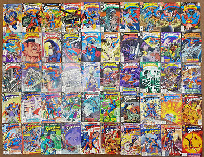 DC Comic THE ADVENTURES OF SUPERMAN #0 424-674 HUGE LOT OF 225 ISSUES all listed