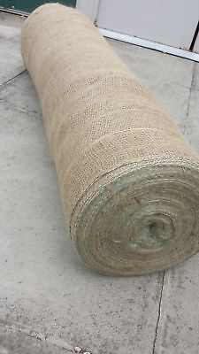 Yuzet 200gsm Hessian Builders Roll  frost weather protection brickwork masonary