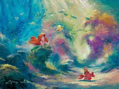 """Dreaming"" by James Coleman inspired by The Little Mermaid"