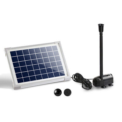 500L/H Submersible Fountain Pump with Solar Panel