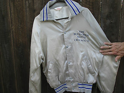THE BLUES BROTHERS 1979 CHICAGO Film Crew Jacket JOHN BELUSHI CARRIE FISHER