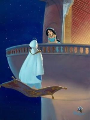 """Falling for Aladdin"" By Rob Kaz"