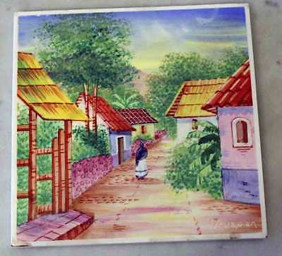 Decorative Hand Painted Tile