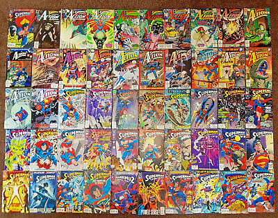 DC Comics SUPERMAN IN ACTION COMICS v1 #0-859 HUGE LOT OF 192 ISSUES all listed