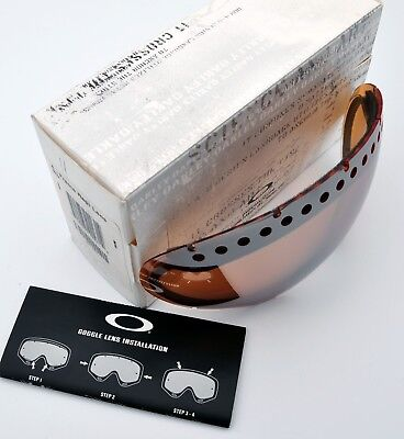Oakley REPLACEMENT Goggle LENS BLACK IRIDIUM 02-231 for A Frame 1.0 USA New