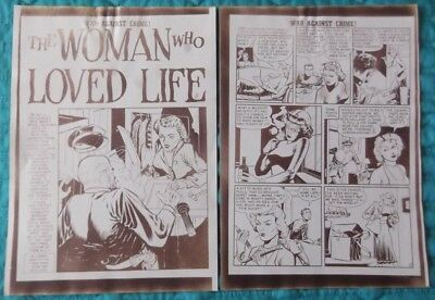 Johnny Craig Collection - EC War Against Crime! #6 - 10 Page Silver Print story